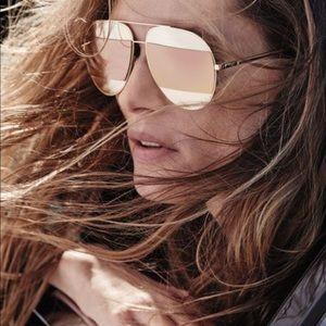 Dior aviator sun glasses